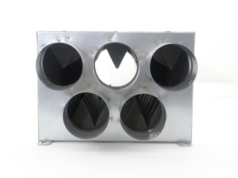 Akustinė dėžė su garso izoliacija AKPD125-5x75